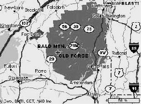 Bald (Rondaxe) Fire Tower, Old Forge, NY Hiking Directions