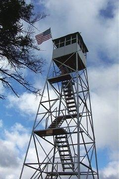 Restored Fire Tower on Bald (Rondaxe) Mountain
