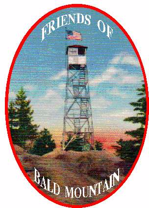 Friends of Bald Mt. Patch Design by John Drexellius of Old Forge, NY